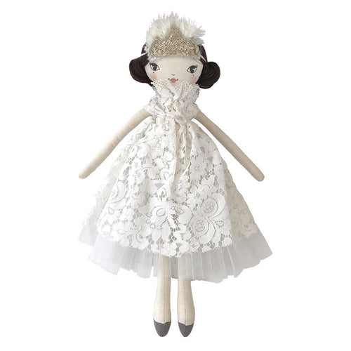These Little Treasures Lola Doll Princess of the Clouds - Ivory / Brunette-Jack & Willow