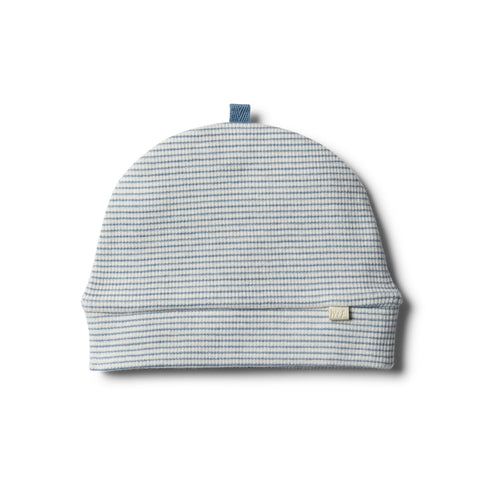 Wilson & Frenchy Rib Beanie - Faded Denim