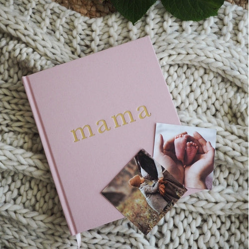 Write to Me Mama Journal - Tell Me About It - Pink - Jack & Willow