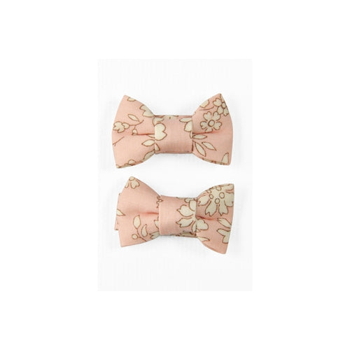 Pretty Wild Twin Bow Snap Clips - Fairy Floss-Jack & Willow