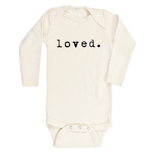 Tenth & Pine Loved Organic Long Sleeve Bodysuit-Jack & Willow