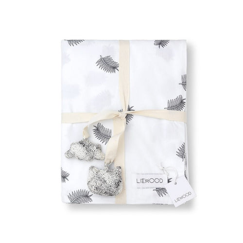 Liewood Agnes Baby Quilt - Leaf-Jack & Willow