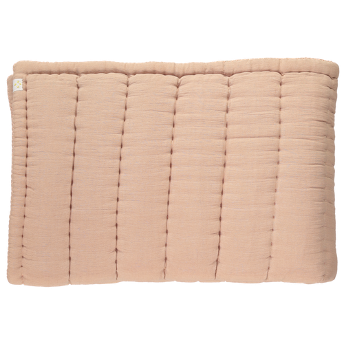 Camomile London Quilted Blanket - Peach Blossom-Jack & Willow