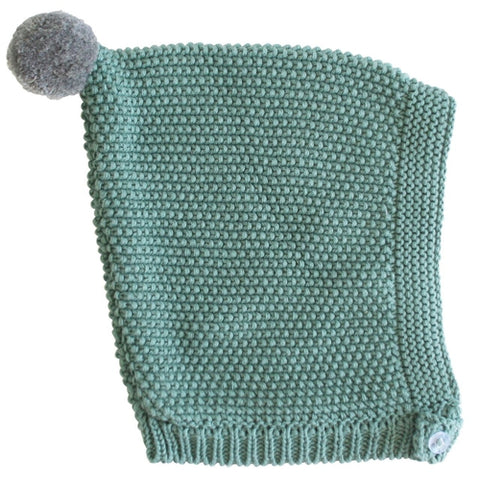 Alimrose Pixie Bonnet - Sage & Grey-Jack & Willow