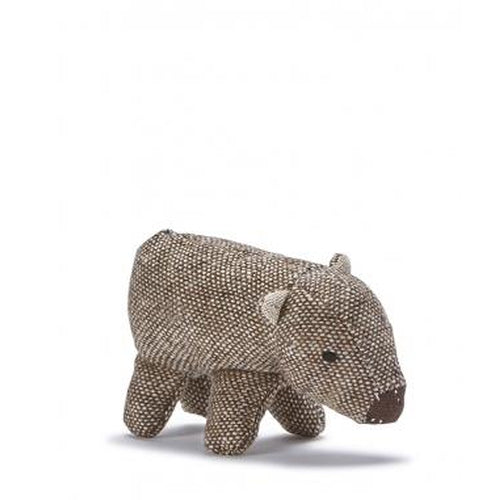 Nana Huchy Mini Wally the Wombat Rattle-Jack & Willow