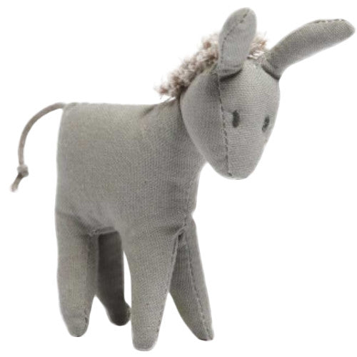 Nana Huchy Mini Donkey Baby Rattle-Jack & Willow