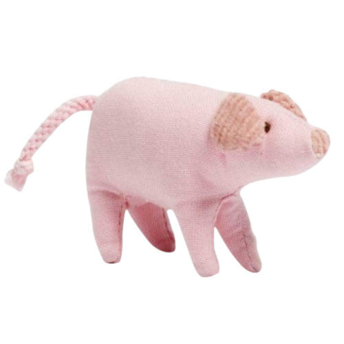 Nana Huchy Piglet Baby Rattle-Jack & Willow