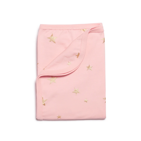 Wilson & Frenchy Organic Swaddle & Sheet Set - Star Bright