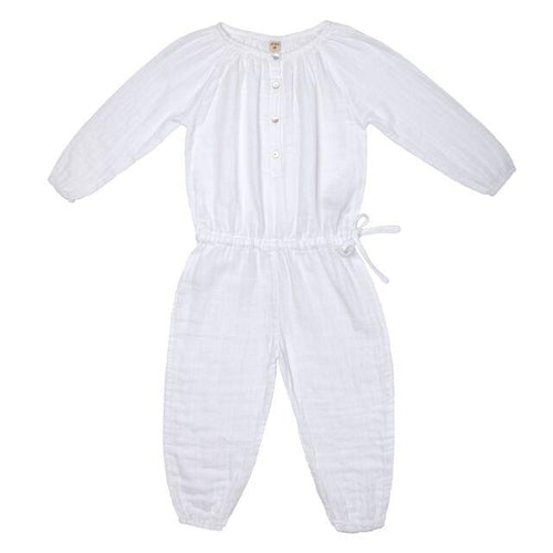 Numero 74 Naia Jumpsuit - White-Jack & Willow