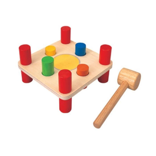 Plan Toys Hammer Pegs-Jack & Willow