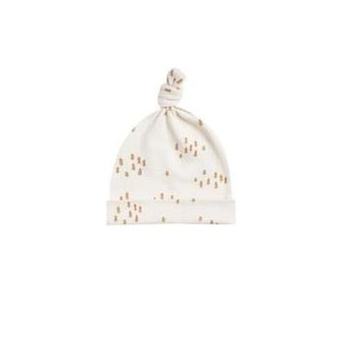 Quincy Mae Knotted Baby Hat - Ivory-Jack & Willow