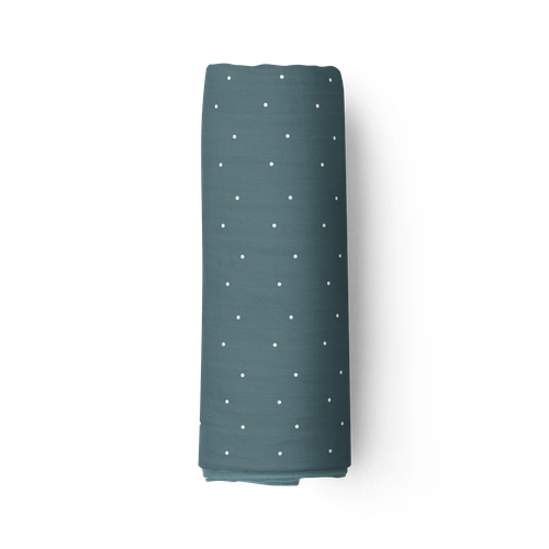 Piper Bug Bamboo Swaddle - Seafoam Dotty-Jack & Willow