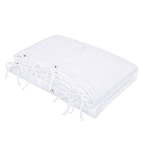 Numero 74 Organic Quilt Cover - White-Jack & Willow