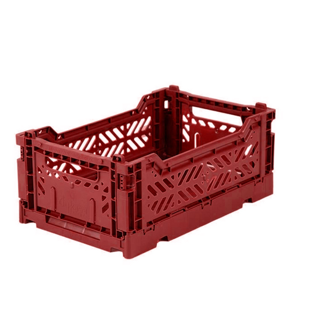 Ay-Kasa Mini Storage Crate - Tile Red