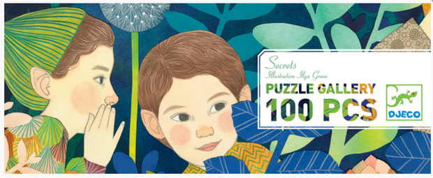 Djeco Puzzle - Gallery Secrets 100pc