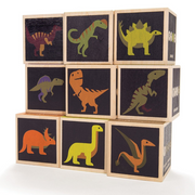 Uncle Goose Dinosaur Set - 9 Pcs