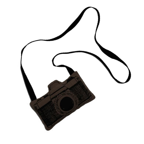 Numero 74 Fabric Camera - Charcoal-Jack & Willow