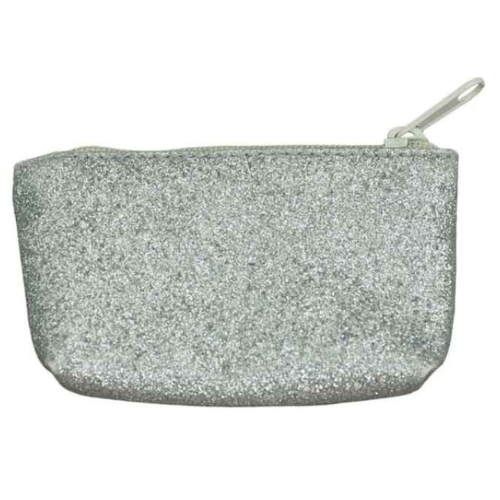 Numero 74 Mini Glitter Purse - Silver-Jack & Willow