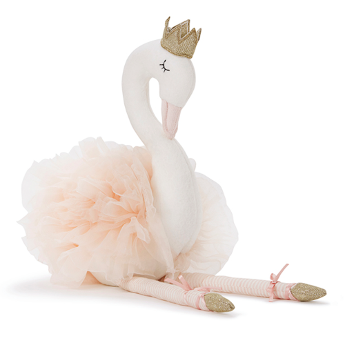 Nana Huchy Scarlett the Swan - Pink-Jack & Willow