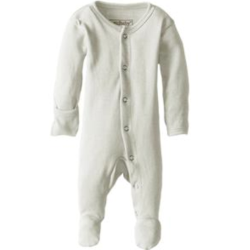 L'oved Baby Footed Overall Growsuit - Stone-Jack & Willow