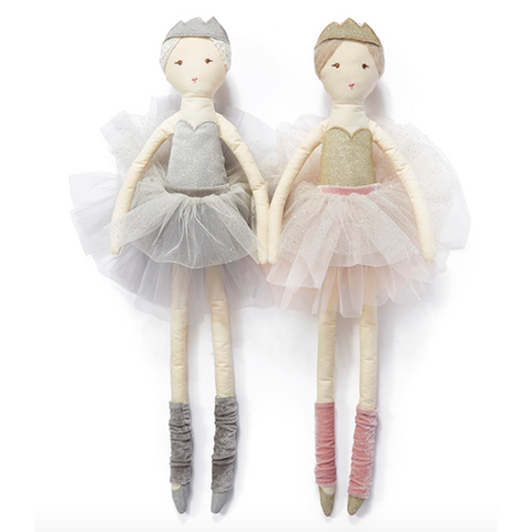 Nana Huchy Grace Ballerina - White-Jack & Willow