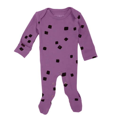 L'oved Baby Grape Stone Footed Overall-Jack & Willow