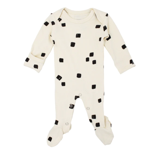L'oved Baby Beige Stone Footed Overall-Jack & Willow