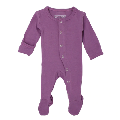 L'oved Baby Grape Footed Overall-Jack & Willow