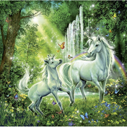 Ravensburger Beautiful Unicorns Puzzle 3 x 49pc-Jack & Willow