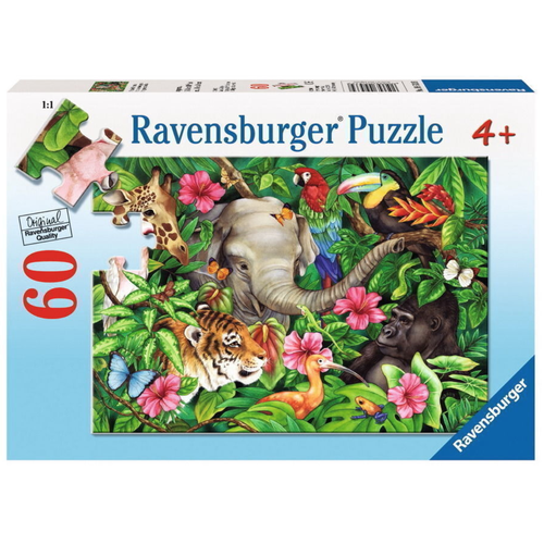 Ravensburger Tropical Friends Puzzle - 60pc-Jack & Willow