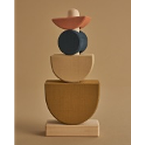 Raduga Grez Sculpture Stacking Tower - Shapes (APRIL PRE-ORDER)-Jack & Willow
