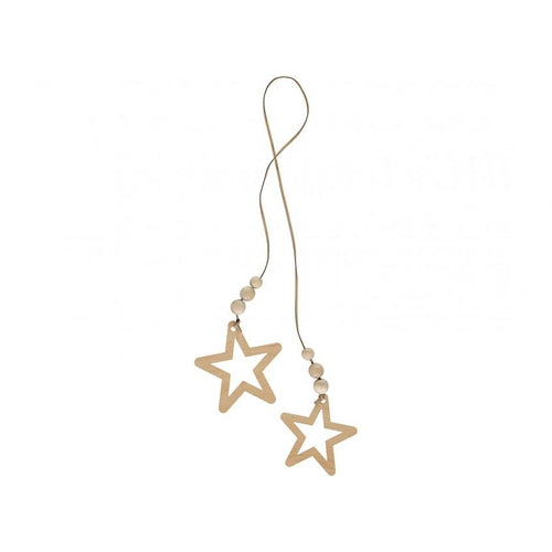 Nobodinoz Star Duo Garland String - Natural-Jack & Willow