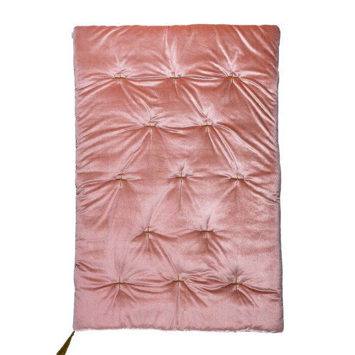 Numero 74 Velvet Futon Playmat - Dusty Pink-Jack & Willow