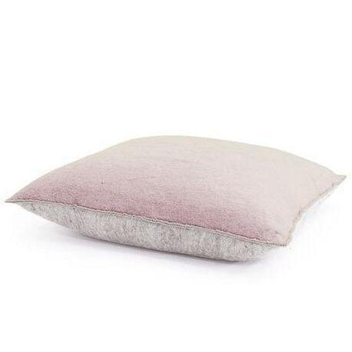 Muskhane Bi-Colour Floor Cushion Cover - Quartz Pink / Light Stone-Jack & Willow