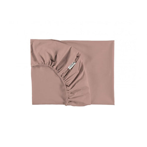 Nobodinoz Fitted Sheet - Misty Pink-Jack & Willow