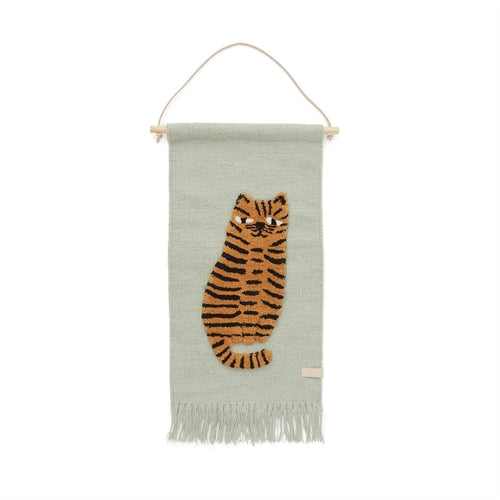OyOy Tiger Wall Hanging-Jack & Willow