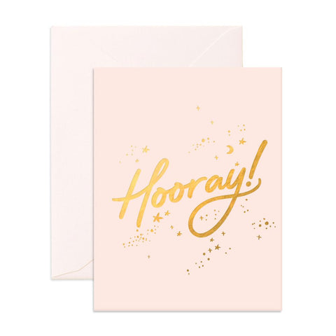 Fox & Fallow Hooray Stars Card