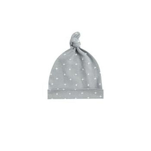 Quincy Mae Knotted Baby Hat - Dusty Blue-Jack & Willow