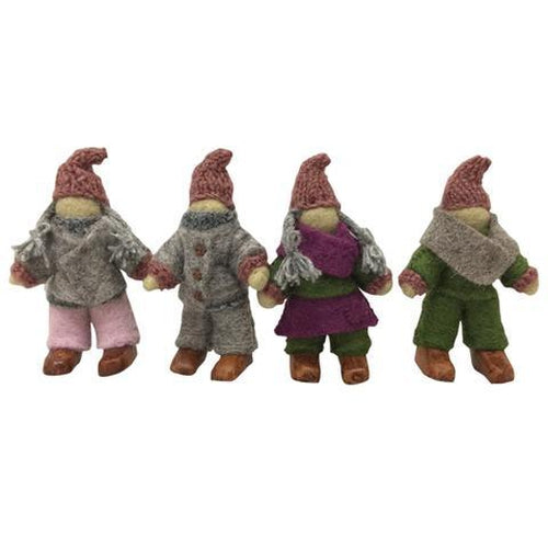 Papoose Woodland Fairy Family - Set of 4-Jack & Willow