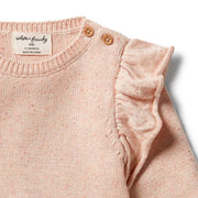 WILSON AND FRENCHY - KNITTED RUFFLE JUMPER