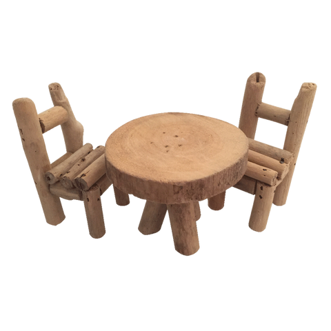 Papoose Woodland Furniture - Table & Chairs
