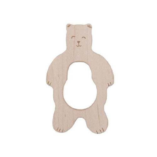 Wooden Story Bear Teether-Jack & Willow