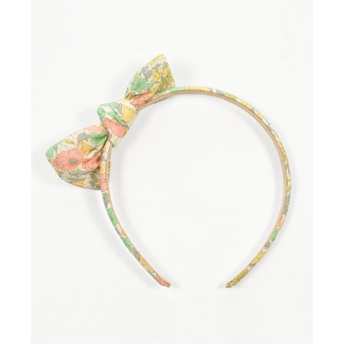 Pretty Wild Zoe Headband - Liberty Daisy Lime-Jack & Willow
