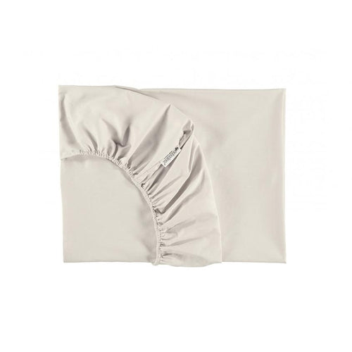 Nobodinoz Fitted Sheet - Natural Pure-Jack & Willow