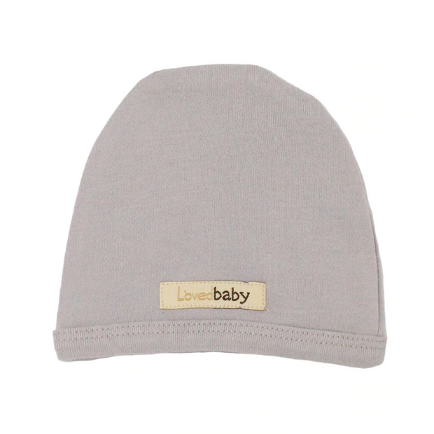 L'oved Baby Organic Cap - Light Grey