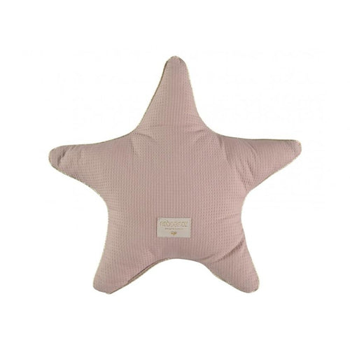 Nobodinoz Star Cushion - Misty Pink-Jack & Willow