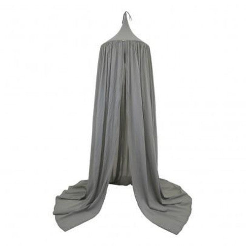 Numero 74 Cotton Canopy Tent - Silver Grey-Jack & Willow