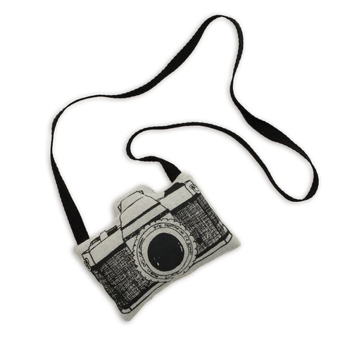 Numero 74 Fabric Camera - Silver Grey-Jack & Willow