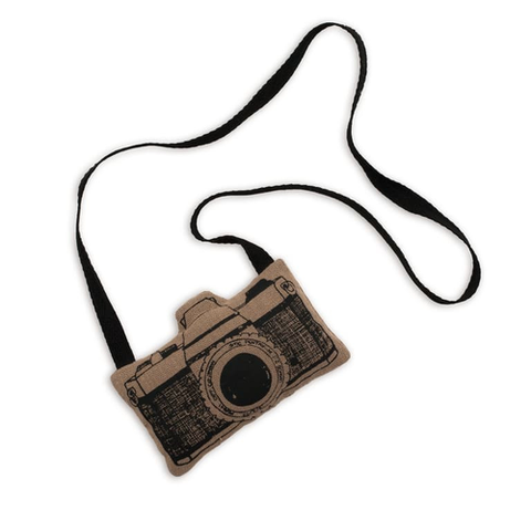 Numero 74 Fabric Camera - Dark Beige-Jack & Willow