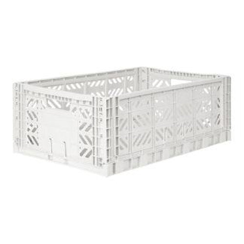 Ay-Kasa Maxi Storage Crate - Coconut Milk (MARCH PRE-ORDER)-Jack & Willow